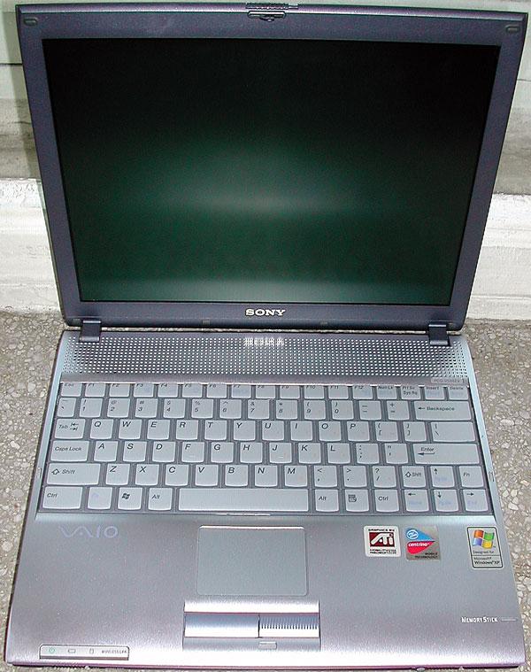 Sony Vaio PCG-V505EX model PCG-6B1L PCG-V505EX